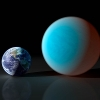 Artists's rendition of a super-earth