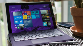 Microsoft's Surface Pro 3, predecessor of the Surface Pro 4
