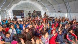 Turkey refugee camps