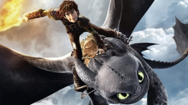 Hiccup and Toothless in 'How to Train Your Dragon 2'