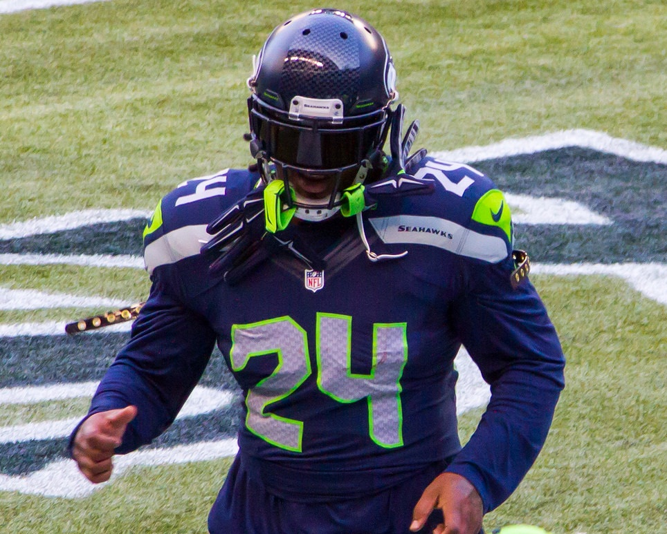 Seattle Seahawks 39 Fred Jackson Off The Hook Marshawn Lynch Russell Wilson Play With Rb After