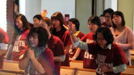 Seminarians prayer meeting