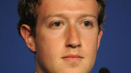 Mark Zuckerberg Attends Conference in France