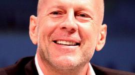 Bruce Willis Speaks at Comic Con