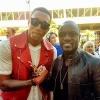 LeCrae and Akon Attend Billboard Music Awards