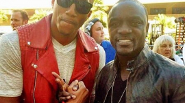 LeCrae and Akon Attend Billboard Music Awards