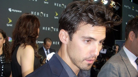 Milo Ventimiglia at 'Heroes' Party in Downtown L.A.