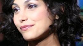 Morena Baccarin Attends 'Serenity' Premiere