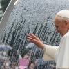 Pope Francis at Varginha, Brazil in 2013