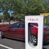 Tesla Supercharging in Gilroy