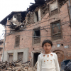 Nepal earthquake children
