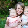 Photo of a Mother and Twin Daughters