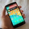 Photo of Hand Holding Nexus 5
