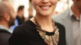 Leighton Meester Attends Chanel Opening