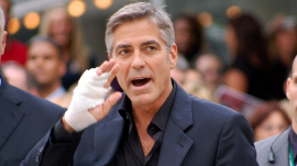 George Clooney Attends TIFF