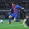 Lionel Messi Plays In Soccer Match