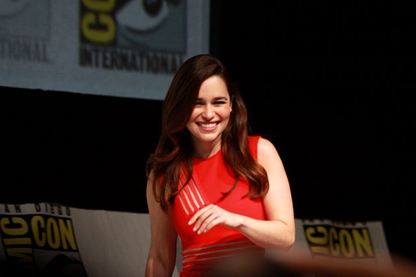 'Game of Thrones' star Emilia Clarke at the San Diego Comic Con