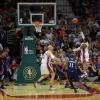 The Cleveland Cavaliers Plays Against the Atlanta Hawks