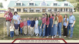 Photo of the Duggar Family