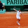 Stan Wawrinka Plays At Roland Garros