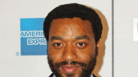 Actor Chiwetel Ejiofor at the Tribeca Film Festival