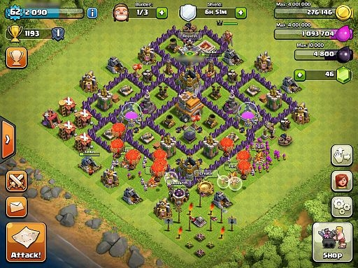 Clash of Clans' Update Features New Dark Spell Factory : IT