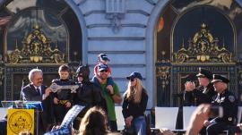 Batkid Receives Key to the City