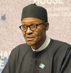 Photo of President Muhammadu Buhari