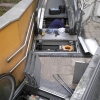 Repairman Fixes Escalator