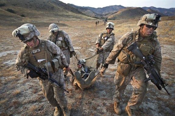 U.S. Soldiers Training