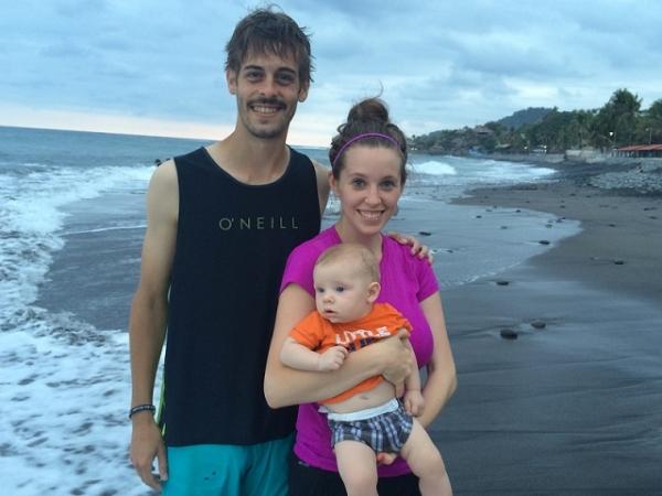 Derick and Jill Duggar-Dillard and their son, Israel