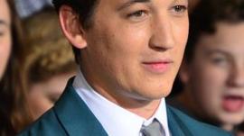 Miles Teller Attends 'Divergent' Movie Premiere