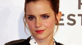 Emma Watson Attends Tribeca Film Festival