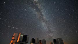 Photo of Perseid Meteor Shower