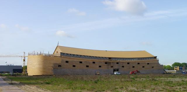Noah S Ark Replica As Big As Two Football Fields Being