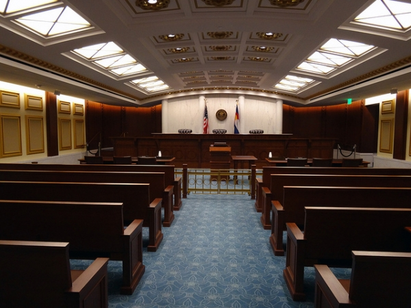 Colorado Court of Appeals Courtroom