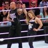 The Rock and Ronda Rousey on WrestleMania