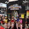Cosplayers Dressed as Power Rangers
