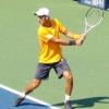 Novak Djokovic Plays at US Open