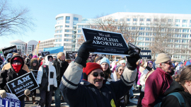 Anti-abortion pro-life rally March for Life