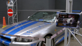 "1999 Nissan Skyline from ""2 Fast 2 Furious"""