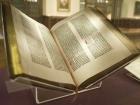 Photo of the Gutenberg Bible