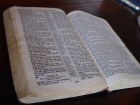 Photo of Bible