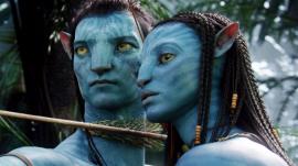 Avatar's Jake Sully and Neytiri