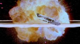 Death Star explosion