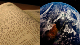 Bible earth religion science