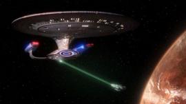 Tractor beam from Star Trek