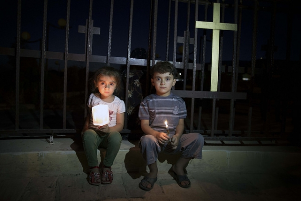Assyrian Christian children