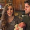 Jessa Duggar-Seewald, husband Ben and baby Spurgeon
