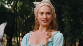 Lily James in 'Cinderella'